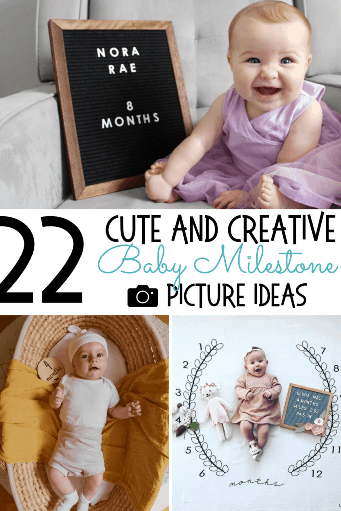 baby milestone picture ideas