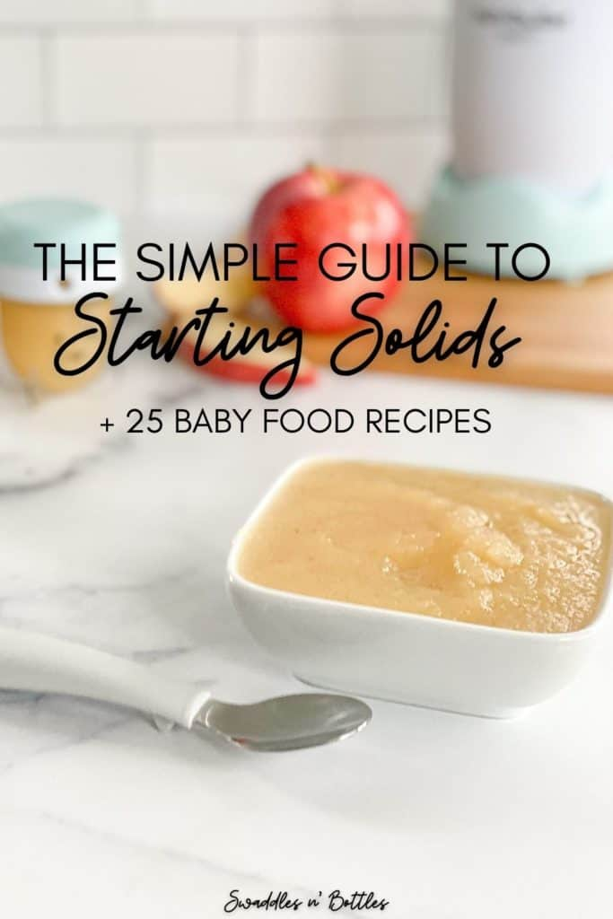 Starting Solids 101: A Guide to Baby's First Bites + Free eCookbook!