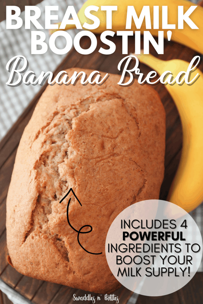 Breastmilk Boostin' Banana Bread