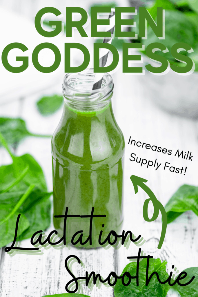 Green Goddess Lactation Smoothie