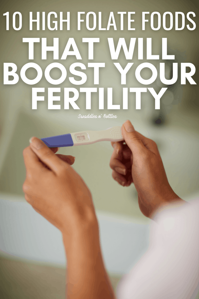 10 High Folate Foods that can Increase your Fertility &Chances of Conception