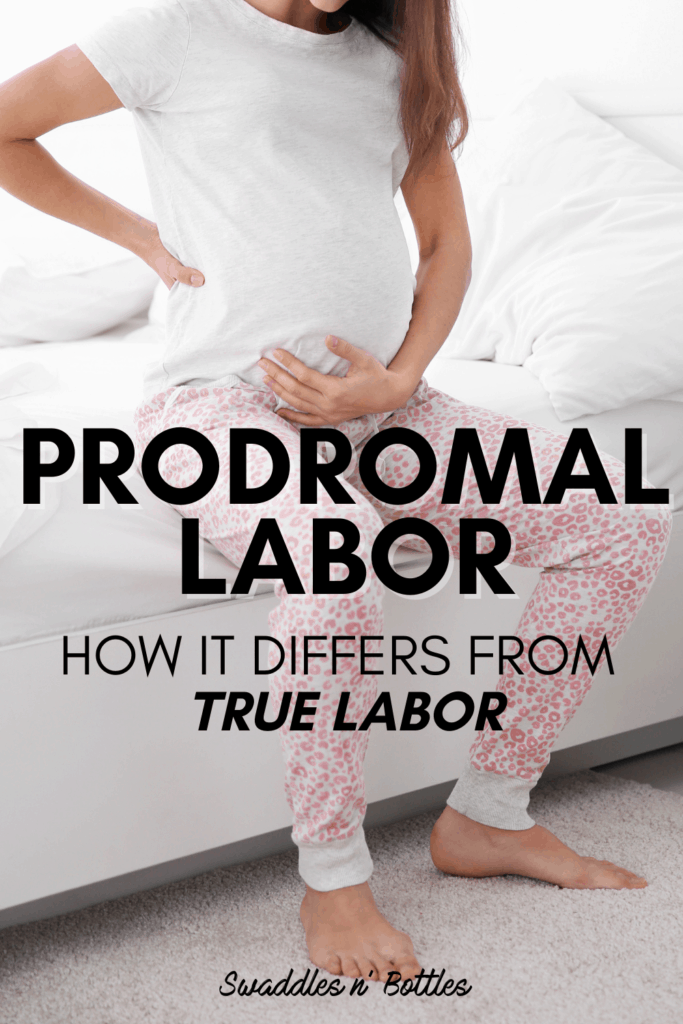 Prodromal Labor: what it means and the biggest difference compared to true labor