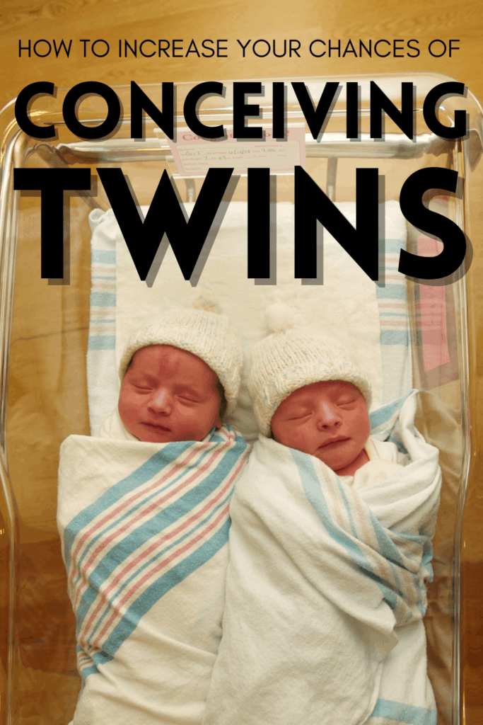 Increasing your chances of a TWIN pregnancy: is it possible?