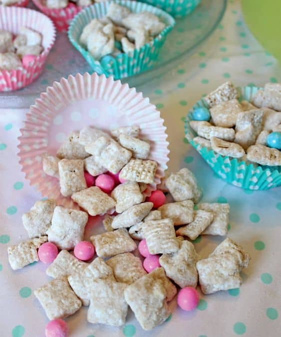 pink food ideas for baby girl baby shower