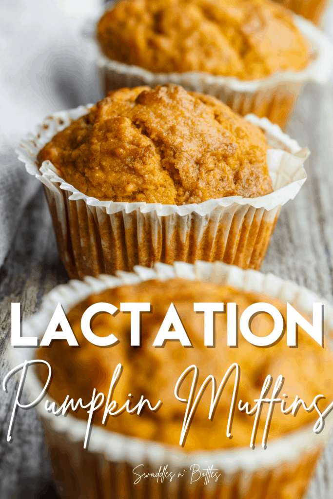 pumpkin lactation muffins