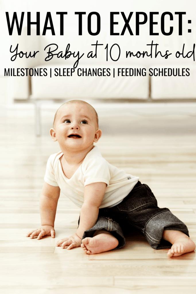 10 month old milestones
