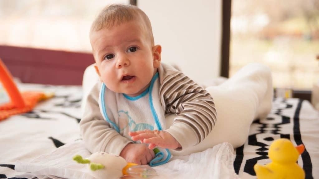 6 month baby milestones